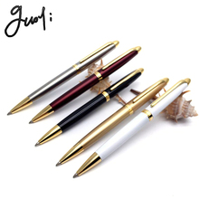 Free Shipping Guoyi A100 metal ballpoint pen.  Office stationery & School Pens, Pencils & Writing Supplies Gift pen refills