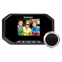 "Daminin 3.0 ""HD Digital Mirilla Visor 140 Puerta Timbre Ojo Cámara Cam Para la Seguridad Casera"