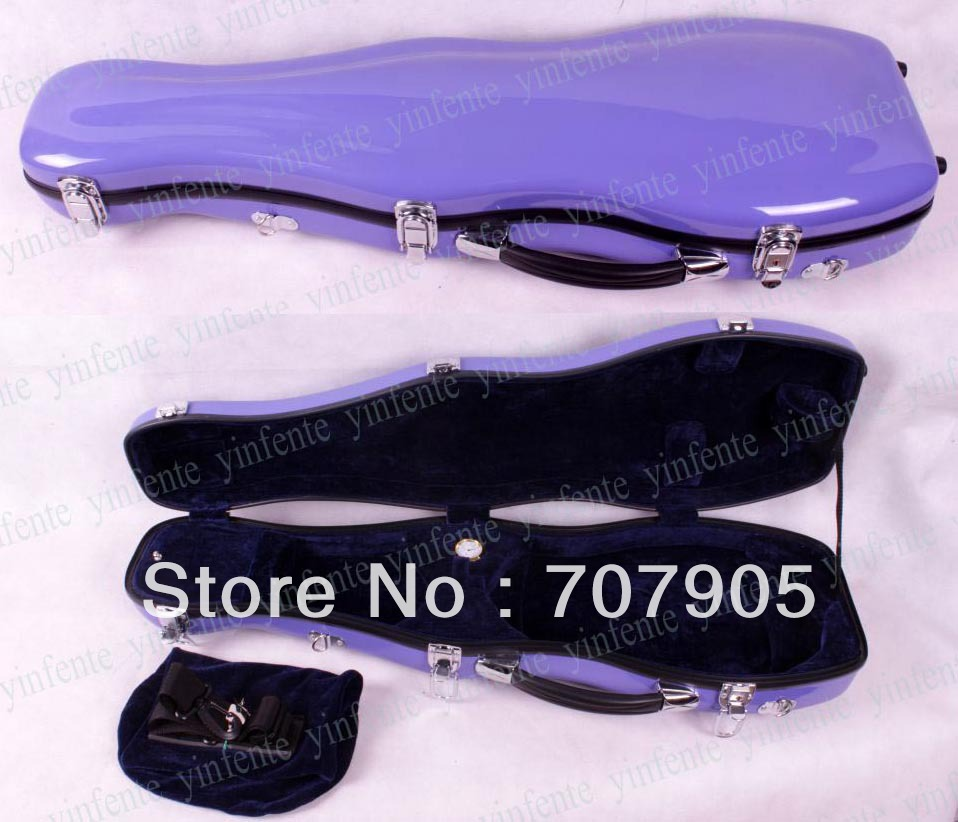 Здесь можно купить   New 4/4 Violin Glass fiber case Waterproof Light Durable Dropshipping Wholesale light purple 1 pcs Спорт и развлечения