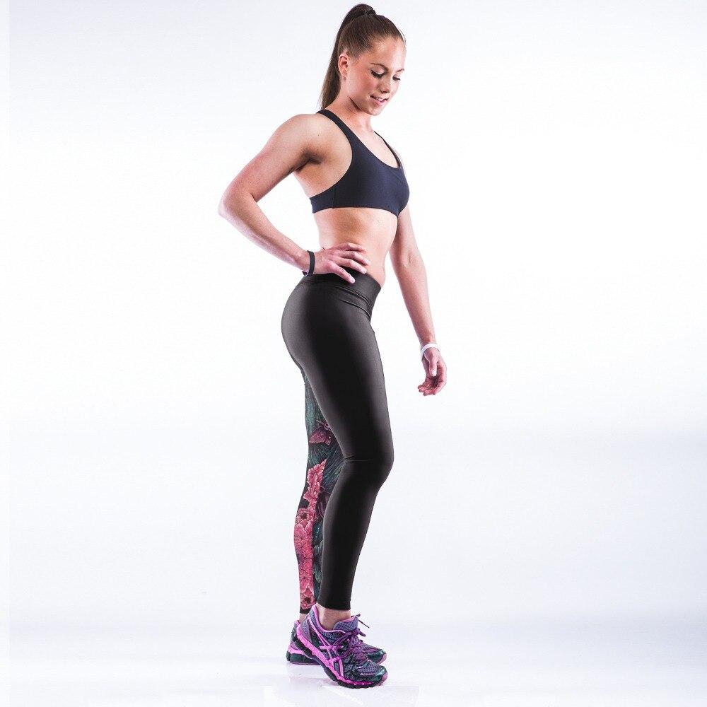 FLOWER PRINCESS STYLE 3D PRINT WOMEN LEGGINGS HIGH WAIST LEGGING PRINTED WOMEN PANTS SLIM FITNESS LEGGINS