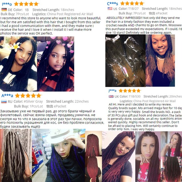 TOMO 30roots Senegalese Twist Crochet Braid Hair Extensions Kanekalon Synthetic Braiding Hair Weaves Long And Shot Black Brown