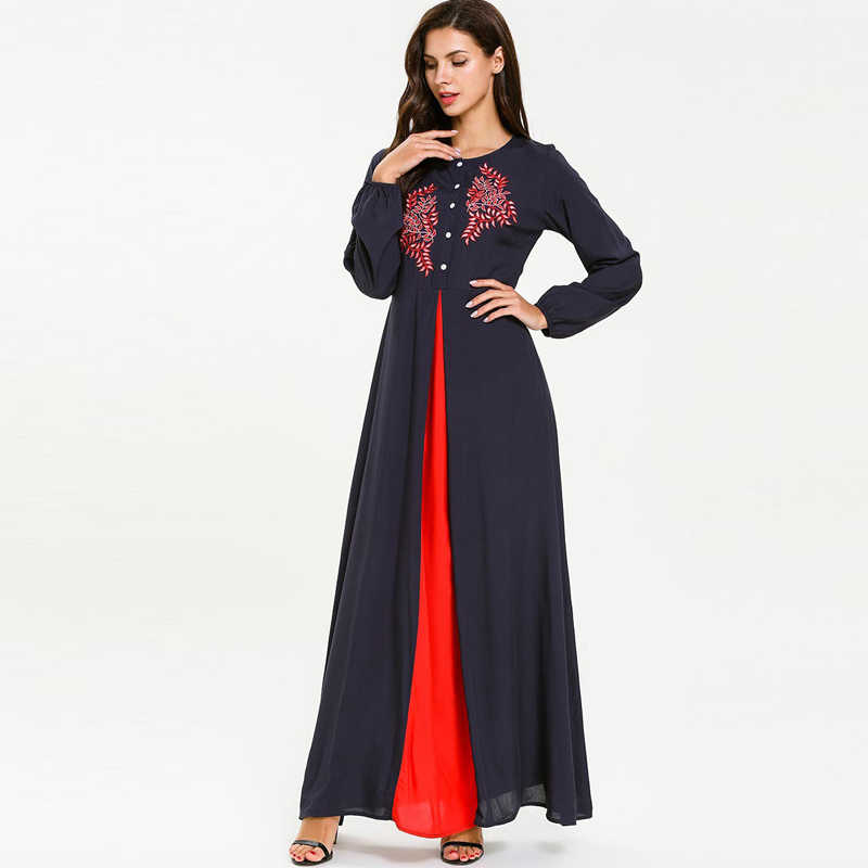 Летние мусульманское платье-Абая Рамадан платье хиджаб Турции Восточный халат из марокена сайт Tesettur Elbise Кафтан одеяние мусульманская одежда для Дубай Костюмы Абаи s
