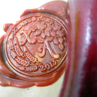 DIY Brass Couple Name Initials Box Set Personalized Double Letter Sealing Wax Wedding Wax Seal Stamp