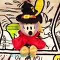 Original Especial de la Bruja de Halloween Minnie Mouse Lindo Soft Stuff Juguete Animal de Peluche Regalo de Cumpleaños 17 cm