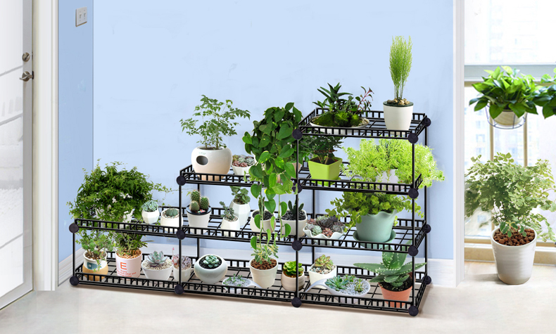 European Balcony And Indoor Flower Pot Holder Garden Small