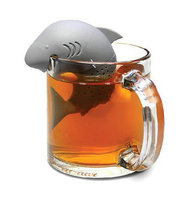 1PC Unique Silicone Tea Straine Grey Tea Infuser Filter Seafish Style Teapot Teabags Tea Infusers Free