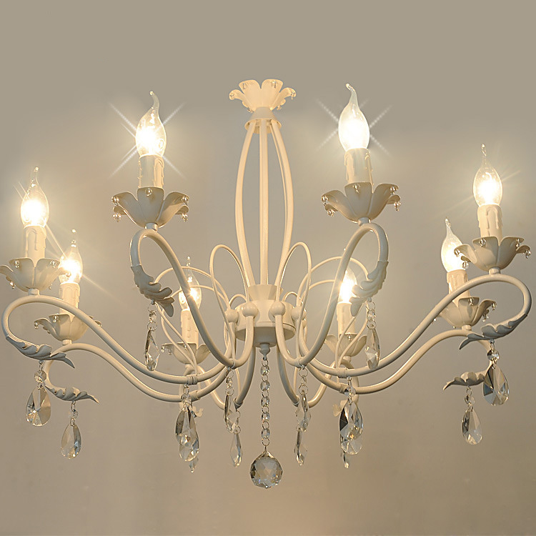 Modern Iron Art Chandeliers Metal Painting 3/6/8 Arms Optional Lustres Home Decoration Chandeliers E14 Free Shipping free shipping 18 arms 100