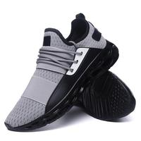 Fashion Men Mesh Shoes Male Breathable Comfortable Casual Shoes Lace up Wear resistant Men Sneakers