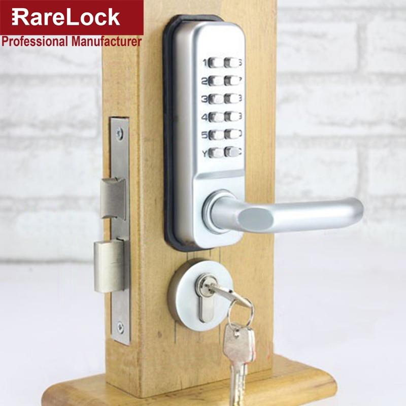 Rarelock ZS49 Combination Handle Door Lock with Keys for
