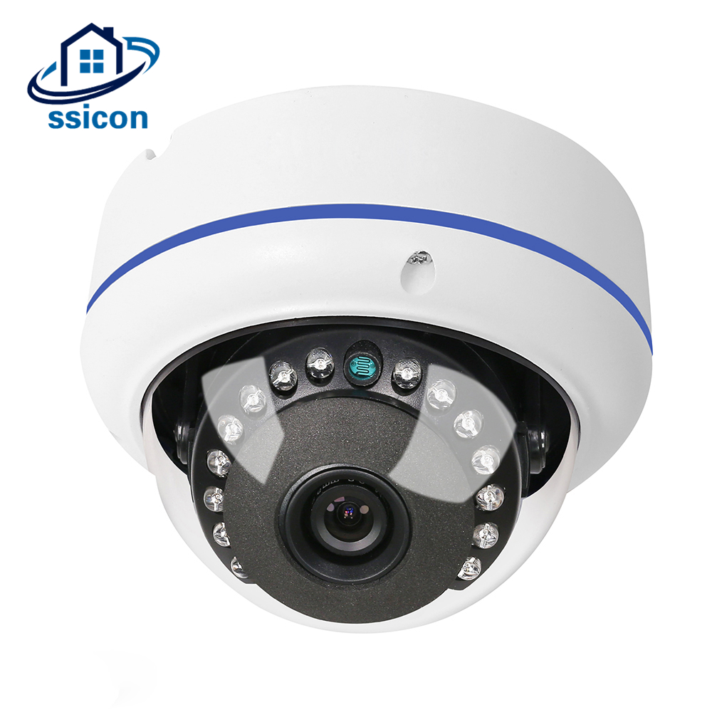 SSICON 4MP AHD Outdoor Camera 15Pcs IR Leds Dome Home Security Surveillance Camera Vandalproof 20Meters IR Night Vision Camera цена и фото