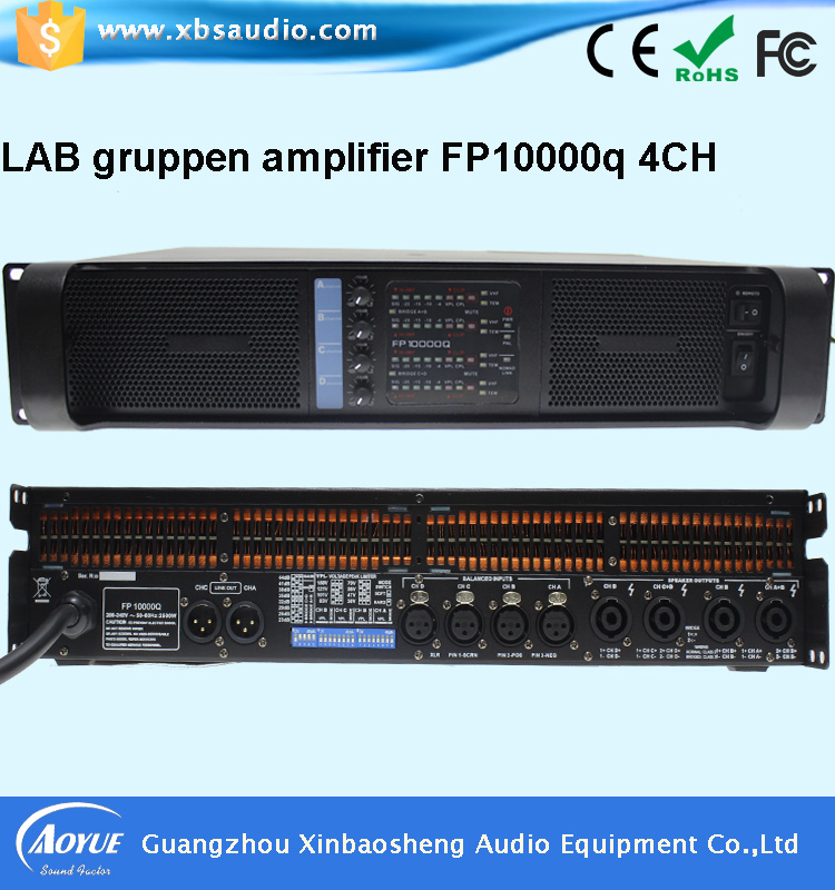 цены  High Quality lab gruppen 10000q made in china power amplifier sound standard with 3 years warrenty