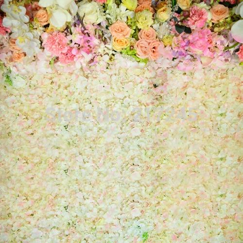 HUAYI Wedding floral wall Art Fabric Photography Backdrop Flower ...