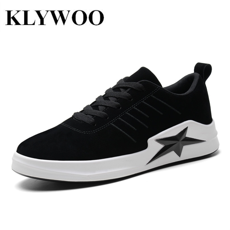 KLYWOO Autumn Winter Mens Sneakers Fashion Leather Shoes Men Superstar Krasovki Luxury Brand Casual Shoes Men Breathable Lace up hot sale men s shoes casual shoes for men winter autumn low top patchwork canvas fashion lace up mens classic casual shoes
