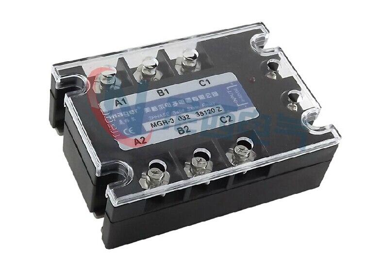 MRSSR-3 à courant alternatif triphasé de contrôle de cc de relais à semi-conducteurs de mager MGR-3 032 38120Z 120A