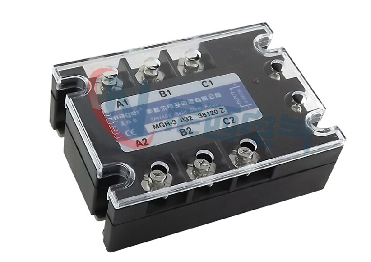 mager Three-phase solid state relay DC control AC MRSSR-3 MGR-3 032 38120Z 120A mager genuine new original ssr 80dd single phase solid state relay 24v dc controlled dc 80a mgr 1 dd220d80