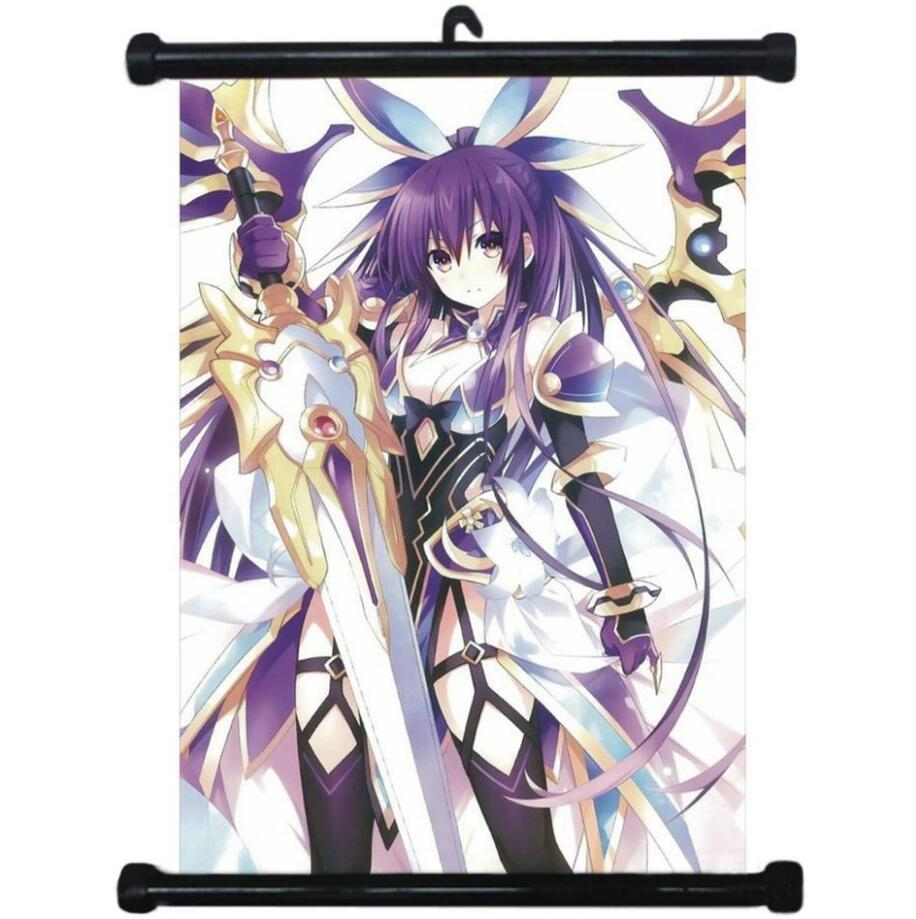 Anime Poster Wall-Scroll Home-Decoration Collectibles Date Live-Tohka Japanese Cartoon