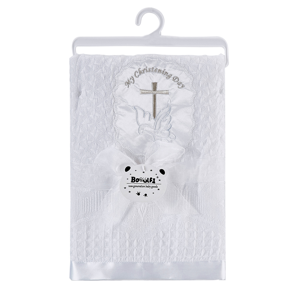 Gooulfi крестильное детское одеяло s Белый для крещения новорожденных обертывание одеяло мягкие детские акриловые Новорожденные Детская шаль одеяло для новорожденных