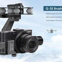 Таро RC оригинальный Walkera G 3S Профессиональный 3 Ось Бесщеточный Gimbal для Sony RX100 II камеры Бесплатная доставка