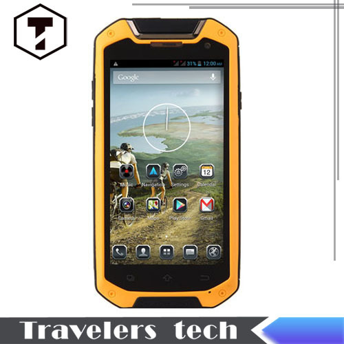 HOT sale original jaguar v12 IP67 rugged font b Smartphone b font MTK6589T Quad Core 4