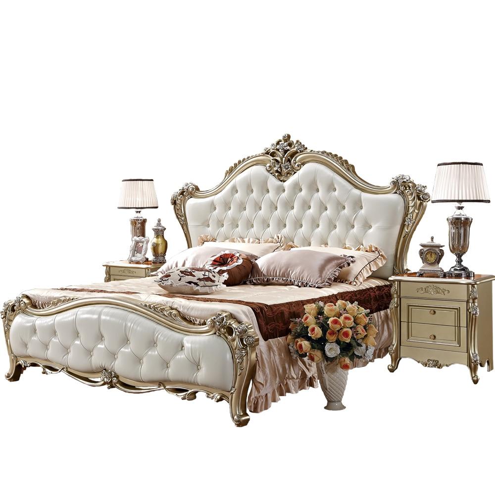 €1129.63 |Mobilier de style Royal ensemble de chambre à coucher européen  classique de luxe-in Ensembles chambre à coucher from Meubles on AliExpress