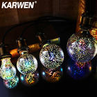 KARWEN 3D LED Edison...