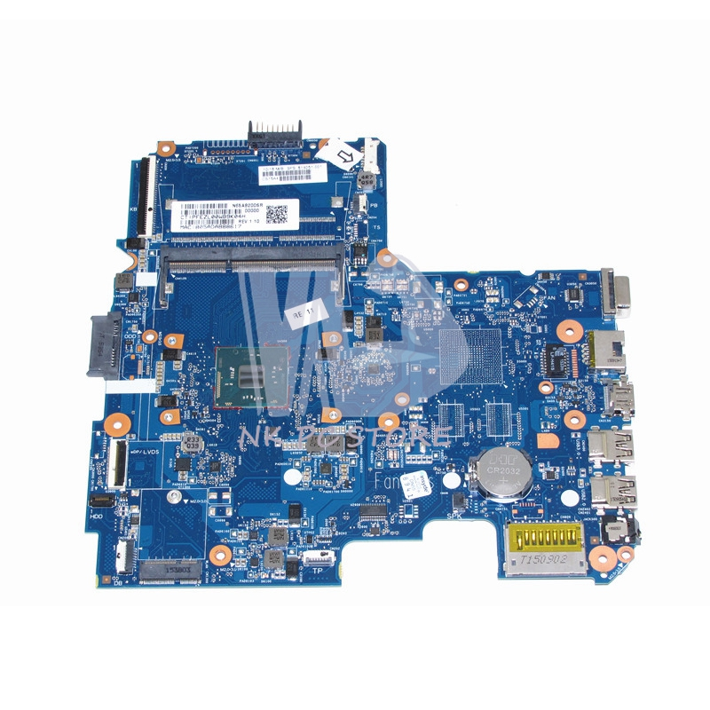 814051-001 Main Board For HP 240 G4 14-AC Laptop Motherboard SR29H Processor 2.30GHz N3050 CPU DDR3