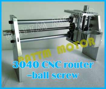 [EU SHIP] 3040 CNC Router Desktop Milling Machine Mechanical Kit 52mm CNC Aluminium alloy Frame Ball Screw