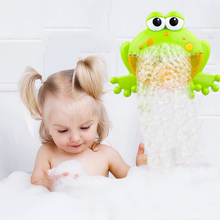 Huanger Bubble Frogs Baby Bath Toy Bubble Maker Pool Swimmin