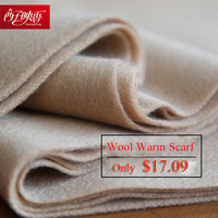 Solid 2018 Luxury Winter Scarf Women Thicken Warm Scarves Wool Cashmere Scarf Man Wrap Pashmina Tassels Solid Color Scarf hijab