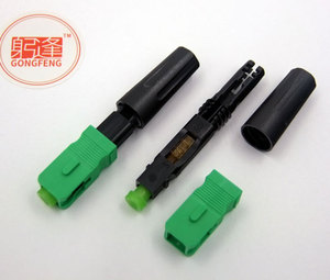 Image 5 - 100pcs/lots New SC/APC Optic Fiber Fast Connector FTTH Embedded  Quick Connector Special Wholesale Free shipping to Russia