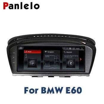 Panlelo Für BMW E60 Android 2G 32G GPS Navigation Autoradio 2 Din Android 8.8 Zoll Quad Core IPS Bildschirm Für BMW Serie 5 E61 E62