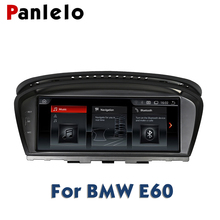 Panlelo For BMW E60 Android 2G 32G GPS Navigation Autoradio 2 Din Android 8.8 Inch Quad Core IPS Screen For BMW Series 5 E61 E62 цены