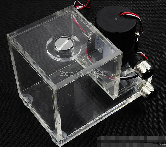 Brand New SC-600B water pump cylindrical acrylic tank water pump water set ddc water pump 500L/H 600ml shock absorption pad free shipping new 220v ylj 500 500l h 8w submersible water pump aquarium fountain fish tank power saving copper wire