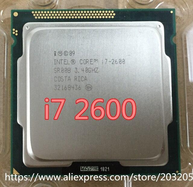 Intel Core i7 2600 Процессор i7-2600 8 М Кэш/3.40 ГГц/Шесть Core CPU в ИСПОЛНЕНИИ LGA 1155 (работает 100% бесплатная Доставка)