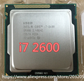 Intel Core i7-2600 i7 2600 Processor  8M Cache/3.40 GHz/Six Core CPU LGA 1155 (working 100% Free Shipping)