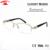 Meia Armações de Óculos de Aros de Diamantes de luxo Mulheres Moda Quadro Rx Glassses Claras Óculos Ópticos oculos de grau feminino das Mulheres