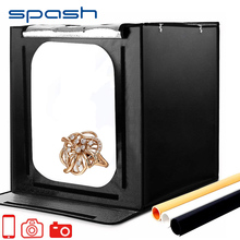 spash F60 Portable Photo Box Lightbox 60*60cm Photo Tent 5500K CRI95 88 LEDs Softbox Light Room Light Box Photography Studio
