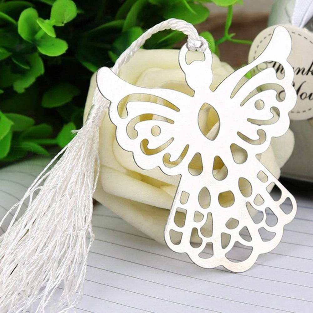 Guardian Angel Metal Tassel Bookmark Baby Shower Souvenir Wedding ...