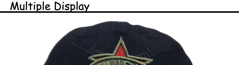 Pentagram Baseball Cap Cotton Army Snapback Hat MenTactical CAP ... 66f53b5fe3ae