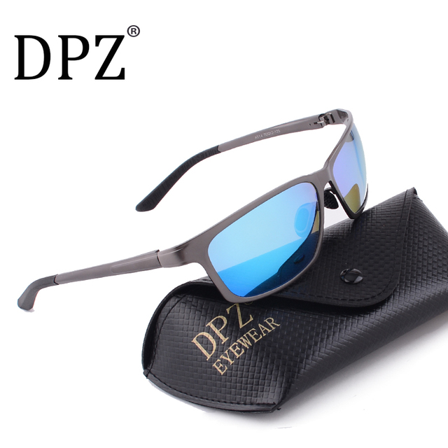 aea7e0dde02 2018 Aluminum magnesium Polarized Sunglasses Men sports Goggles UV400 sun  Glasses Male Metal Eyewear Oculos Original Packaging