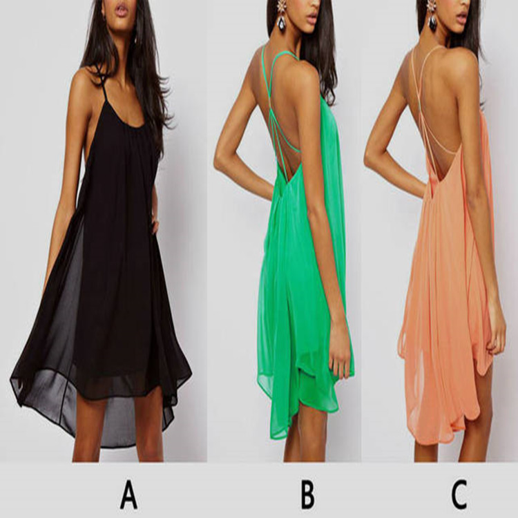 Buy Cheap Brand Fashion Women Dress Sexy Quality Casual Chiffon Summer Style Tropical Vestidos De Festa Femininas Summer Dress