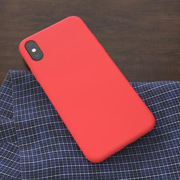 iPhone X Thin Liquid Silicone Case
