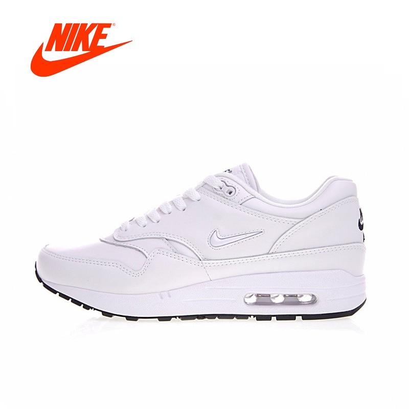 Original Nike Air Max 1 Premium SC Jewel Triple Men Running Shoes Outdoor Sport Men New Arrival Authentic Sneakers 918354-105 original new arrival nike air max 1 men s running shoes sneakers page 9