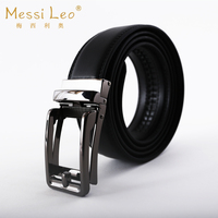 Messi Leo Novelty Man Belts Genuine Leather Belt Cow Automatic Buckle Fashion Casual Soild Belt For