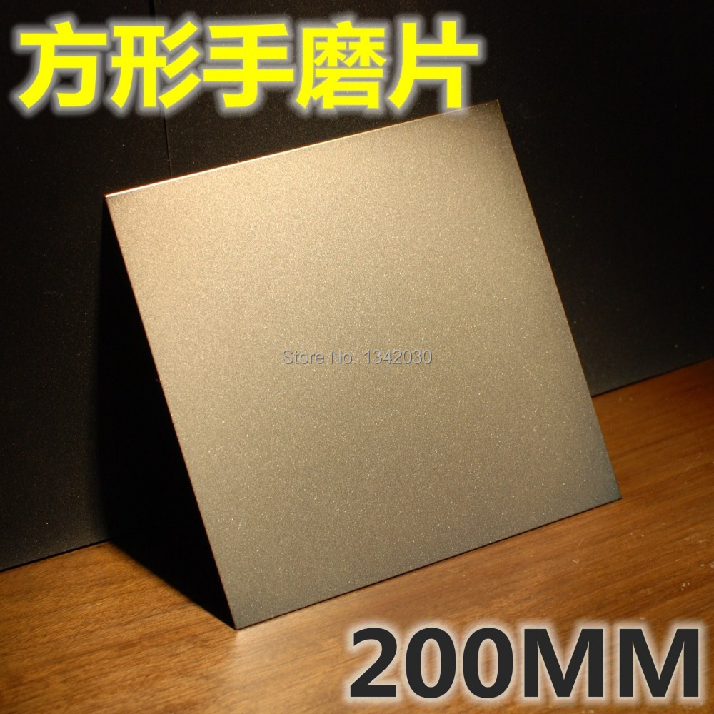 Free Shipping Diamond Abrasive Tools Square Diamond Grinding Disk For Glass Or Jade Size 200mm*200mm