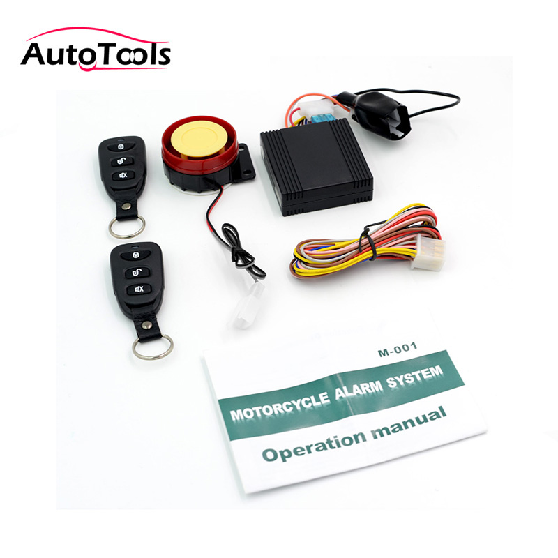 Tsk 501 Motorcycle Alarm System Scooter Bike Anti Theft