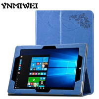 For Cube Iwork10 PU Leather Case Cover Ultra Slim Flower Print Tablet Case 10 1 Protective
