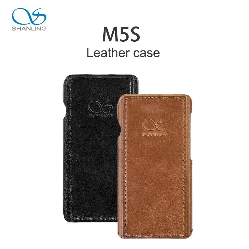 Shanling Originele Lederen case voor M5s muziekspeler-in MP3/MP4 tassen & Hoesjes van Consumentenelektronica op  Groep 1