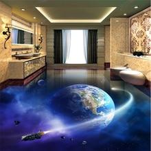 beibehang Classic three-dimensional decorative painting modern papel de parede 3d wallpaper earth 3D bathroom living room floor