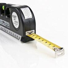 Горячий Поиск точный Многоцелевой лазерный уровень рычаг поперечные проекты горизонтальный вертикальный лазерный светильник луч измерительная лента